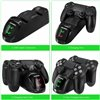 PS4 BASE RICARICA LED CARICA CONTROLLER PLAYSTATION 4 DOPPIO DOCK DUALSHOCK 4 STAND