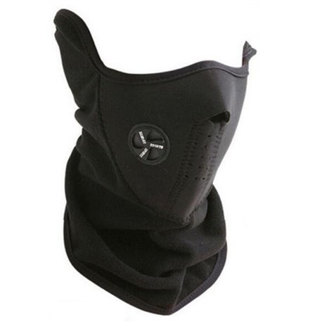 SCALDACOLLO SOTTOCASCO NEOPRENE E PILE MOTO SCI SCOOTER MASK