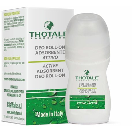 Thotale Deodorante Deo Roll-on Adsorbente 50 mL