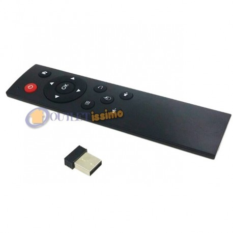 TELECOMANDO MULTIMEDIALE WIFI WIRELESS RASPBERRY MXQ SMART TV BOX  MEDIA CENTER NUOVO