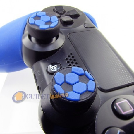 SET GRIP 2 GOMMINI NERAZZURRI CALCIO CONTROLLER INTER FIFA PES PS4,XBOX ONE